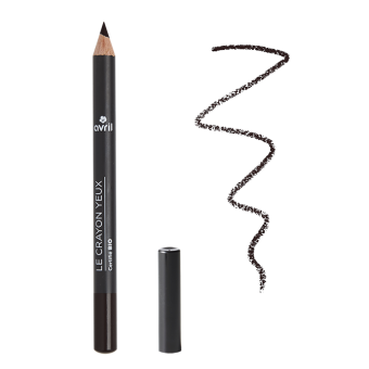 Crayon yeux Noir Charbon  Certifié bio