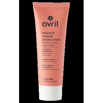 Masque visage hydratant  50ml - Certifié bio