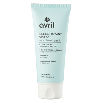 Gel nettoyant visage  100ml - Certifié bio
